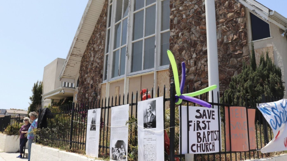 Venice Home Prices | Venice CA | The First Baptist Church has closed, a symbol of Venice's shrinking black population.png