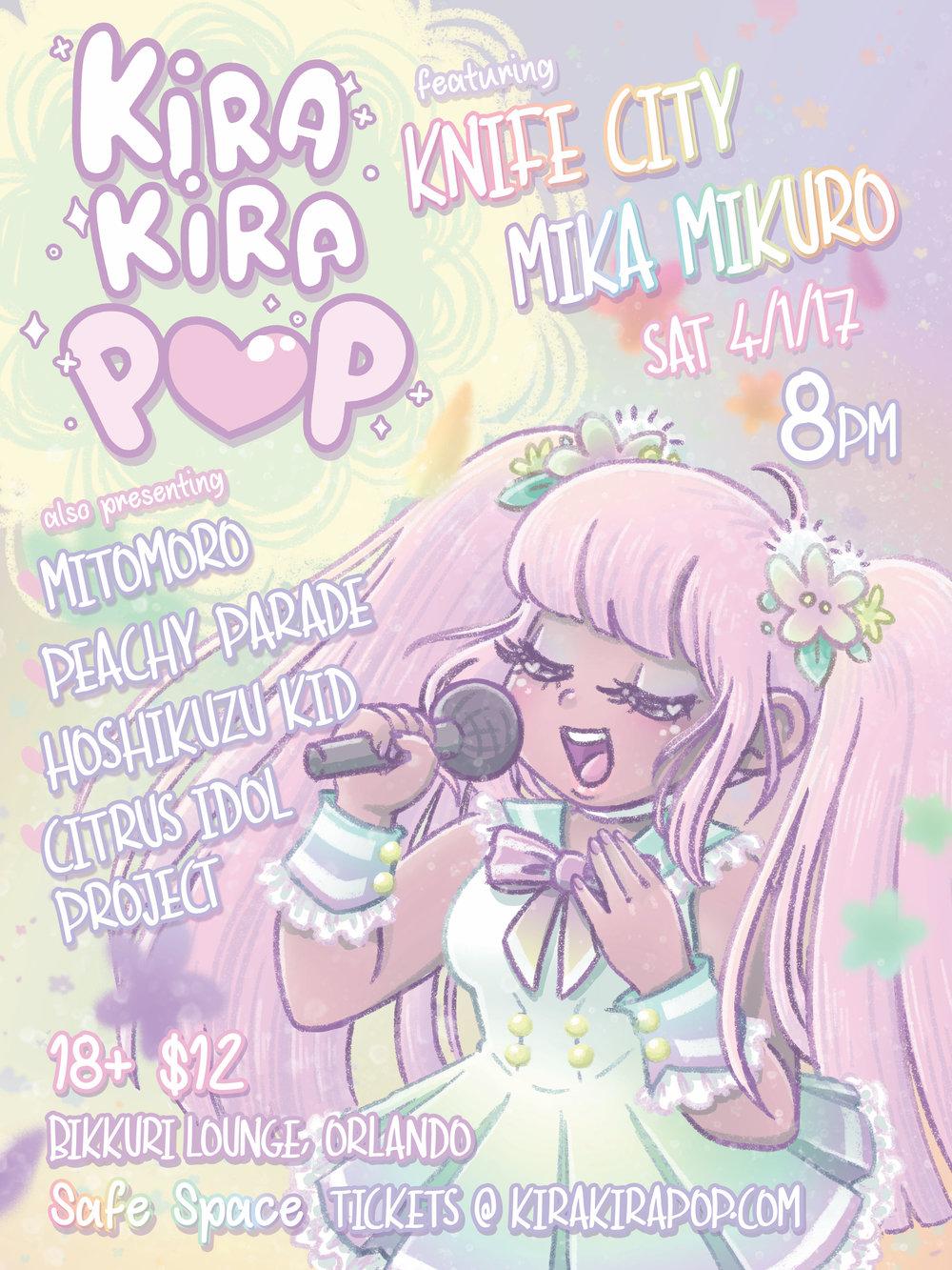 Kira Kira Pop Interview | Orlando Music Blog Interview Art Central Florida | The Vinyl Warhol