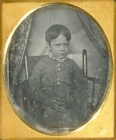 waldo emerson at five years old. Photo courtesy Emerson family papers (MS Am 1280.235 item 706.17) Ralph Waldo Emerson Association deposit, Houghton Library, Harvard University.