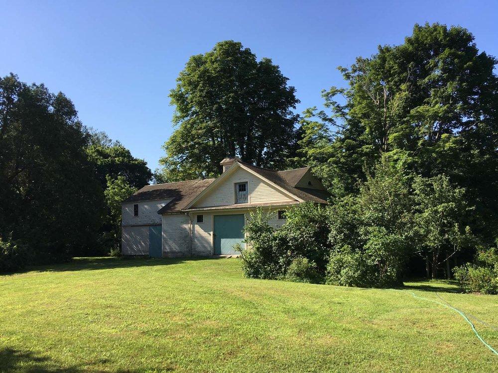 Emerson house barn