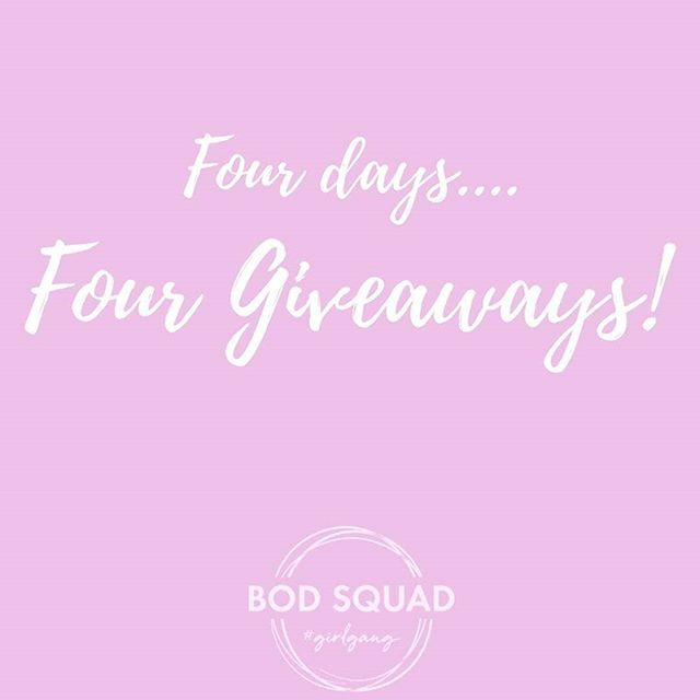 G I V E  A W A Y  T I M E !  Seeing as our squad is expanding, I decided to share the love! We will be doing FOUR giveaways this January! Did you know that Oprah Winfrey has the same b'day as me? 29th of January! So yes Legends are born on that day 😂  I kinda feel like her ... You get a challenge and you get a challenge and YOU get a challenge 💪  For the next four days I will be putting a post up... One giveaway per squad and I will release the winners names Monday.The first one will go up shortly!  FOUR 1/2 price memberships are up for grabs! Do you know someone who needs to join the girl gang? Make sure they see this post and make sure they are watching for the next four days!  #yeahthegirls  #girlssupportgirls  #fourdaysofgiveaways