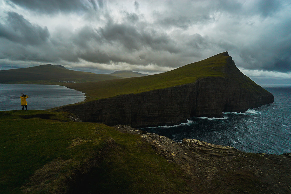Sørvágsvatn, Faroe Islands — October 2017. Photo by  Derek .