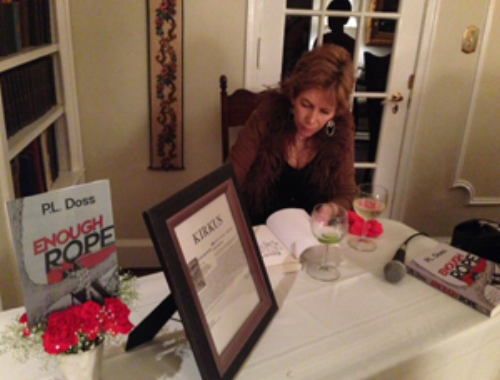 Doss at the launch party for  Enough Rope  in 2013