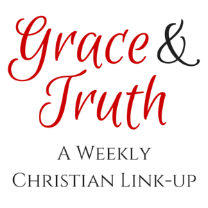 I participate in the Grace & Truth linkup.  Click here to join in on Fridays.