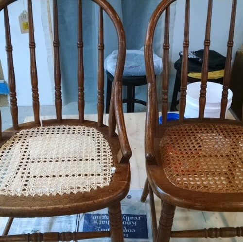 And then we learned to weave cane - August 2018