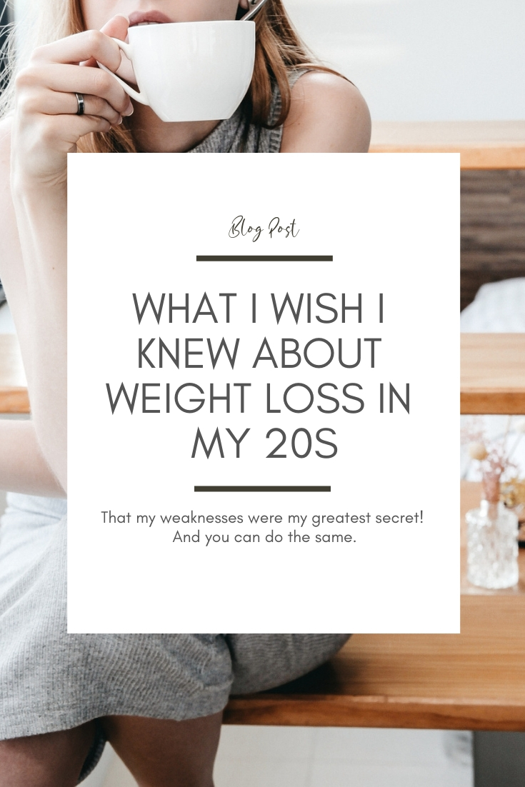 What I wish I knew about weight loss in my 20s Weight Loss Tips from Brisbane Nutritionist Zoe Morosini Click here to read more: https://www.zoemorosini.com/blog/2018/12/3/know-your-weaknesses