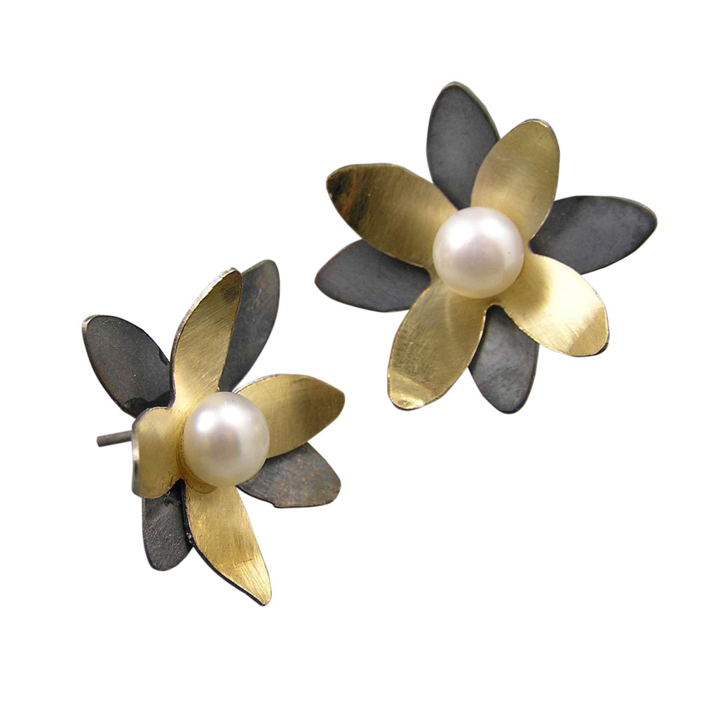 Blossoms Large Stud Earrings