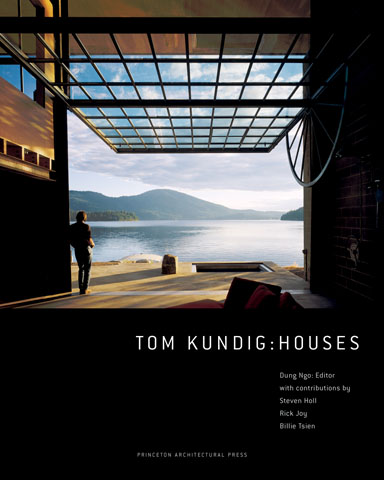Tom Kundig : Houses     Tom Kundig: Houses  presents five projects in depth, from their early conceptual sketches to their final lovingly wrought, intimate details. Kundig's houses reflect a sustained and active collaborative process between designer, craftsmen, and owners, resulting in houses that bring to life the architect's intentions, the materials used, and lines of unforgettable beauty.   BUY HERE