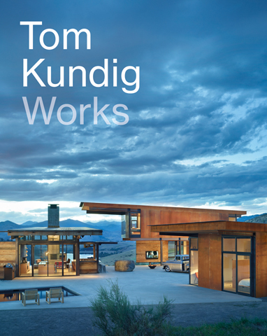 Tom Kundig Works    In  Tom Kundig: Works,  the celebrated Seattle-based architect presents eighteen new projects, from Hawaii to New York City. Kundig's award-winning houses, known for their rugged yet elegant and welcoming style, are showcased in lush photography with drawings and sketches, and appear alongside his commercial work from multistory complexes to the Tacoma Art Museum to a line of hardware (handles, door pulls, hinges, and more). In firsthand accounts, Kundig describes the projects and his design process with many personal anecdotes, making Tom Kundig: Works as much memoir as monograph   BUY HERE