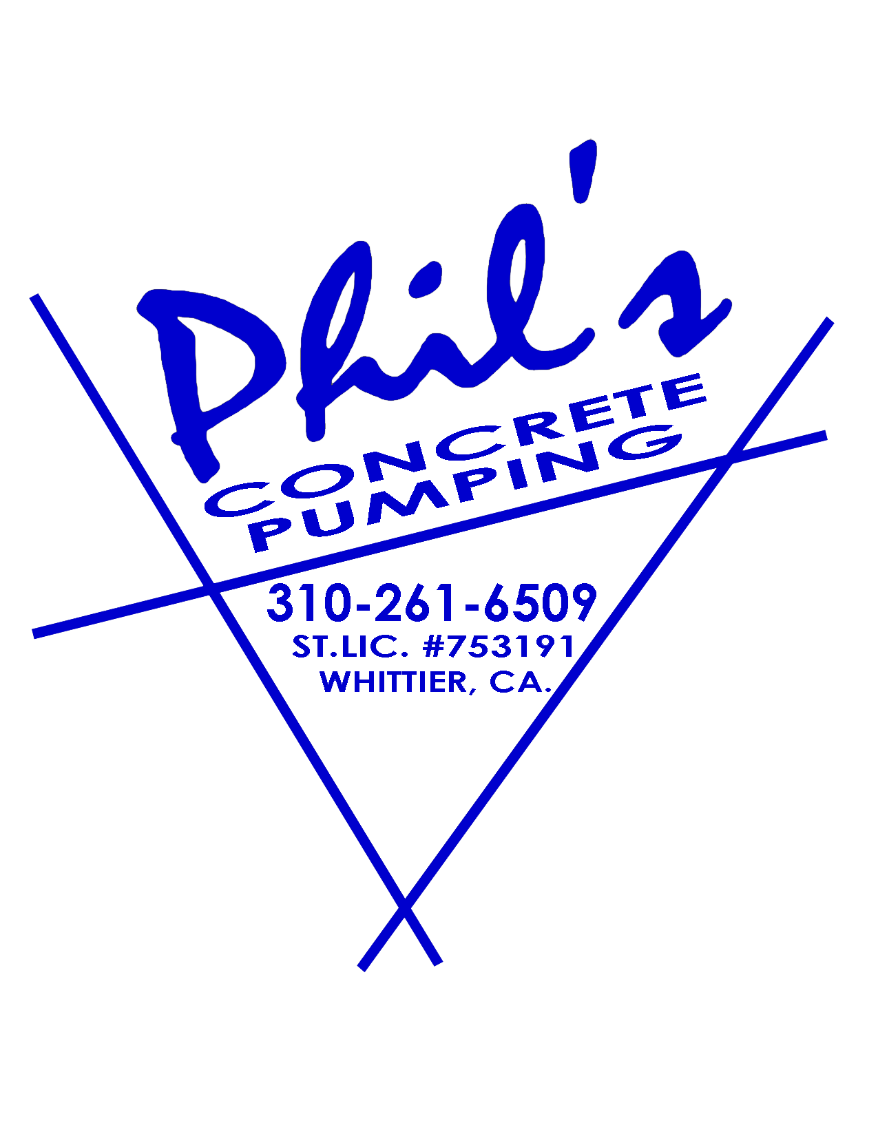 Phil's Concrete Pumping, Inc.