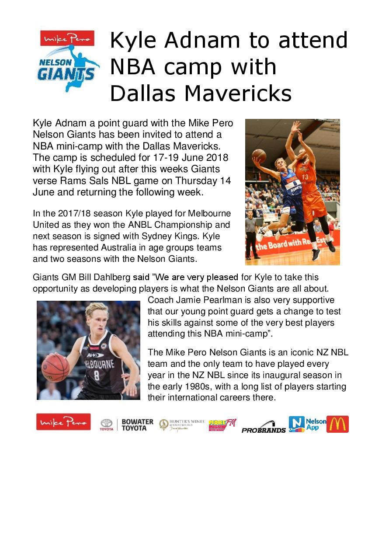 Nelson Giants Kyle Adnam chance with NBA camp DM June 2018 jpeg.jpg