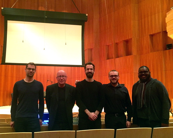 Copy of With students at Eastman School of Music, April 2018, Rochester, New York