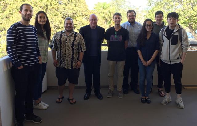 Modular synthesis class, UCSB, 2018, Santa Barbara, California