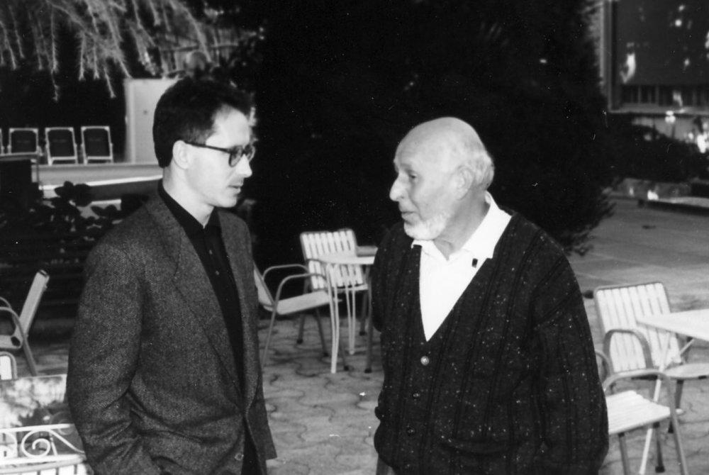 With Prof. Aldo Piccialli, Napoli 1988