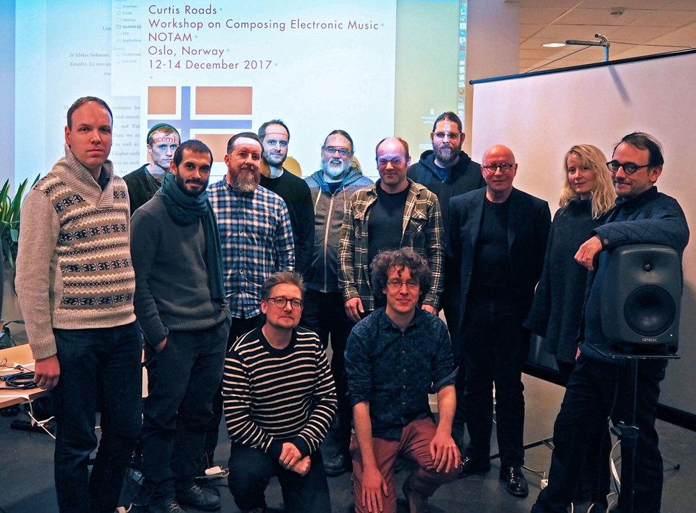 Workshop, NOTAM, Oslo, 2017