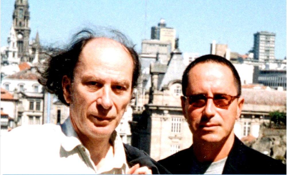 With Prof. Horacio Vaggione, Porto, 2001