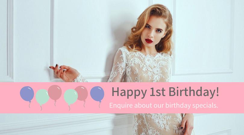 1st Birthday Specials