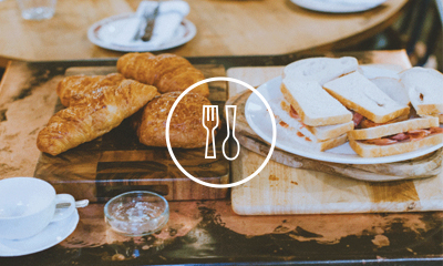 Food   Whether it's a group of friends gathered around a kitchen table, or a quick catch-up over coffee and cake, food has a way of bringing people together. It's no different at Alpha. Most sessions start with food, because it's a great way to build community and get to know each other.