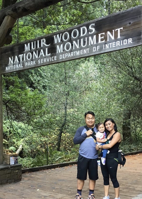 A little over a month after Christian's recovery. We found time to check off a location on our hiking bucket list and celebrate Louise's 30th birthday.  Muir Woods in Marin.