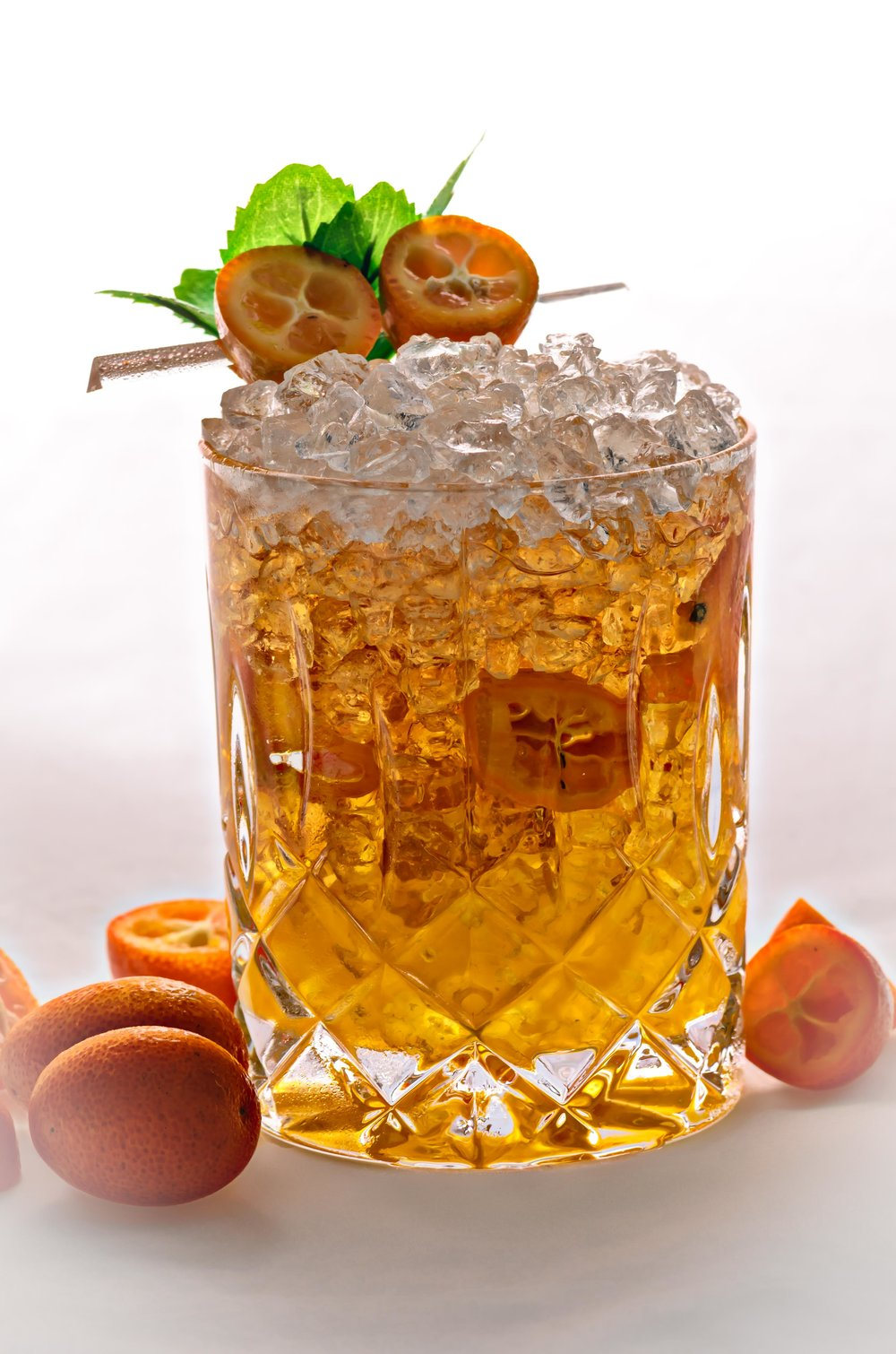 Indian Summer, created for Ben Sowton's Bar Grooves Indian Summer at the White House London.  Photo and Recipe: U.Nijs