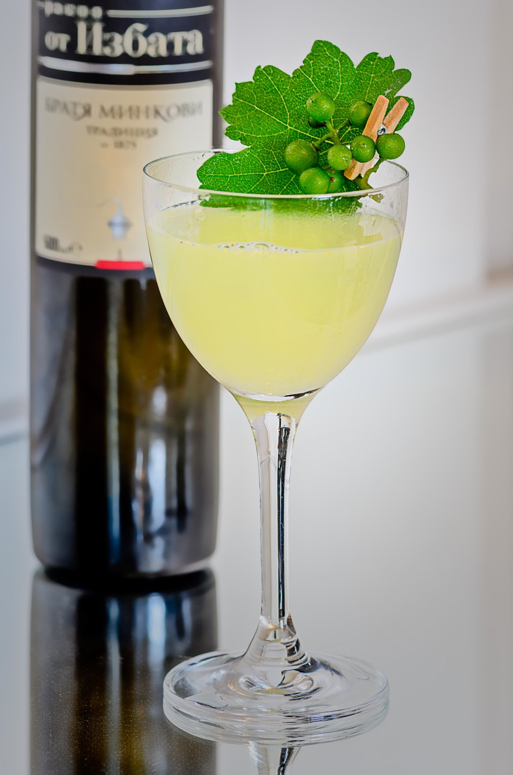 The Aksania, created for  Spirits Selection by Concours Mondial de Brussels .  Photo and Recipe: U.Nijs