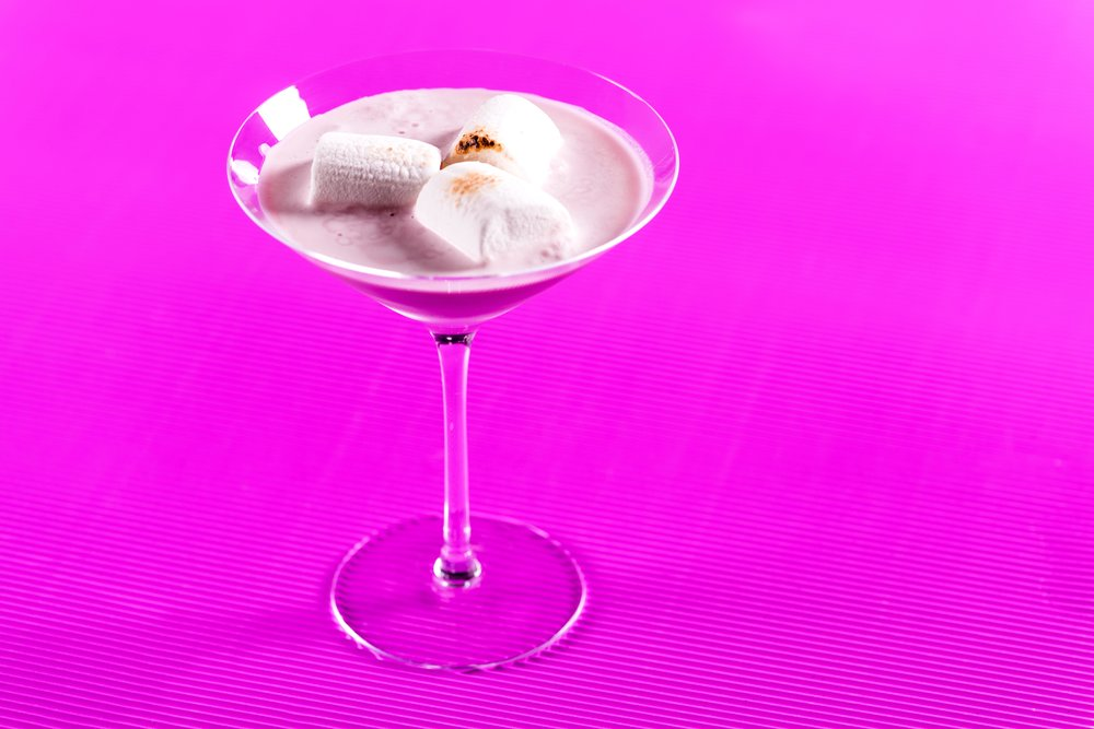 Silk Stockings, a Tequila classic reworked by U.Nijs.  Photo: J. Adgeappa, Drink: U.Nijs.