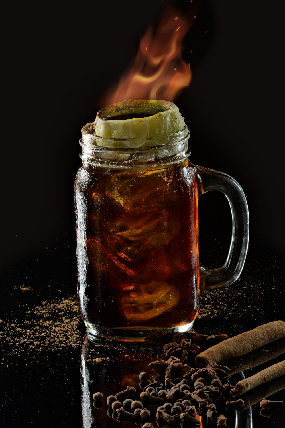 Dead Man's Mule.  Photo and Recipe: U.Nijs