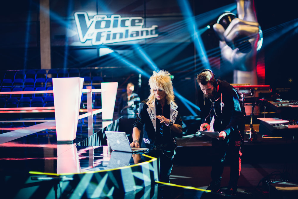 The Voice of Finland - Behind the scenes | Asiakas: Genelec