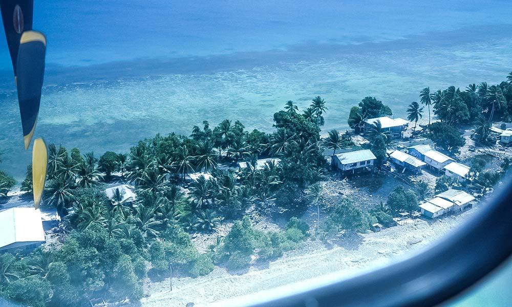 Coastal view, Nanumea Island. Photo: Jone Feresi/UNDP