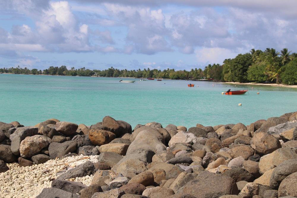 The foreshore at Fogafale in Funafuti, Tuvalu (Photo: UNDP/Jone Feresi)