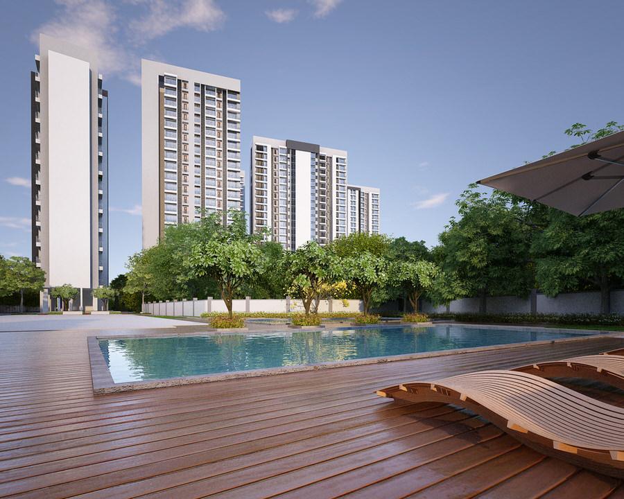 Residential complex, mumbai -