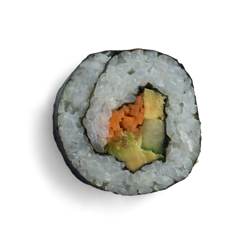 Vegetable futomaki