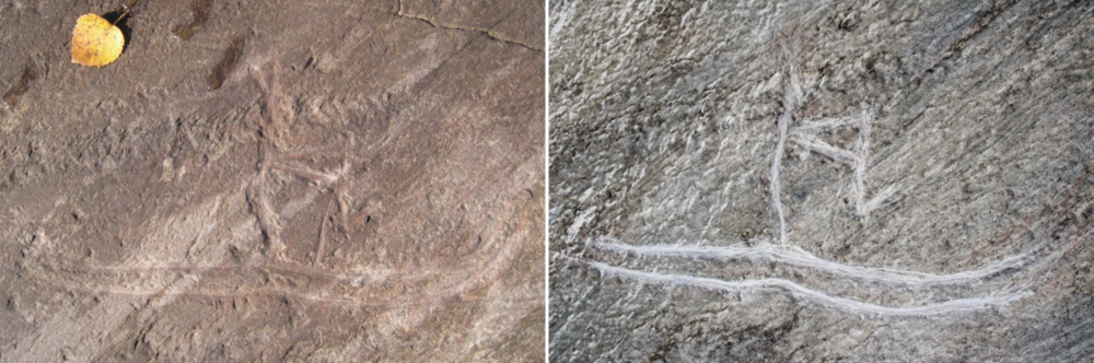 "Ancient carvings / sharp object  In July 2016, two boys used a sharp object to outline a 5,000-year-old historical carving on the island of Tro in Norway, thought to be among the earliest known depictions of skiing anywhere in the world. The boys apparently had good intentions, hoping to ""fix"" the carving by making it more visible. They also defaced a carving of a whale which formed part of the same hunting scene. In both cases, the damage was believed to be permanent.  The two boys issued a public apology but face possible prosecution under Norway's Cultural Heritage Act."