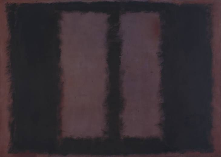 "Mark Rothko ""Black on Maroon"" / children   At the Tate Museum in Britain, a two-year-old child managed to cross a barrier and leave hand prints on the painting; the work was able to be restored. Only three months earlier, the same painting had been left with a series of dents after another child had poked at the work."