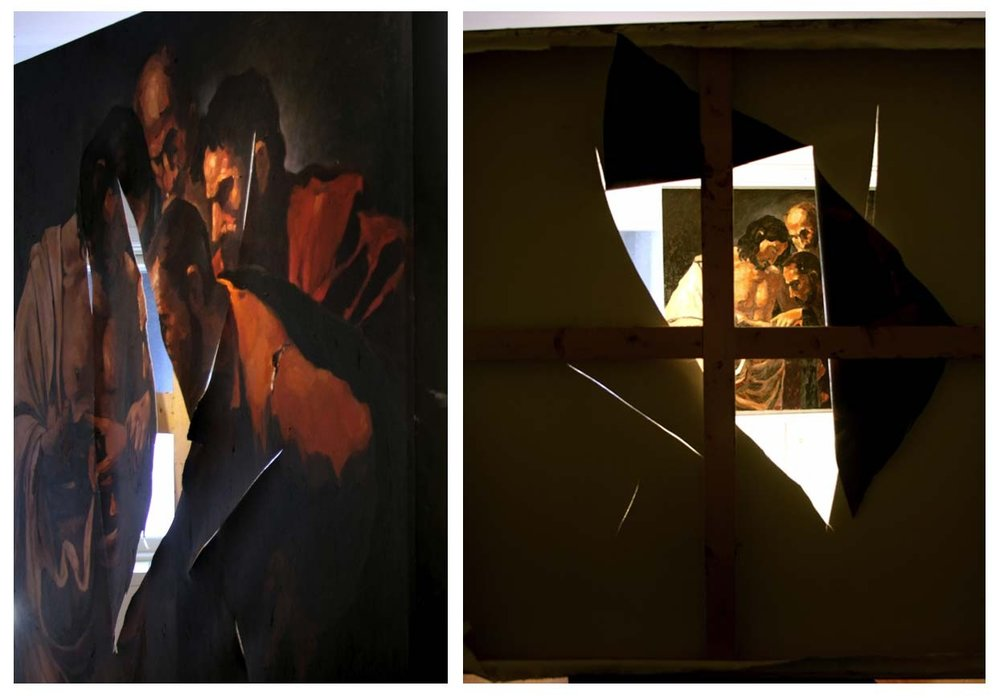 "Eyob Mergia ""After Caravaggio"" / knife"