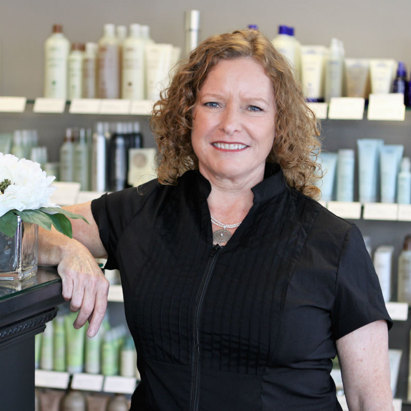 "JULIE COOKE   I became interested in aesthetics after I had my first facial many years ago. I graduated from Elizabeth Grady School of Aesthetics in 1991 and have stayed in the industry ever since. After recently closing my business, Lotions n Potions, I am delighted to part of the Simplicity team.  I started my career in Boston and won a ""Best of Boston"" award for ""best Waxing"" in 1995. I have had advanced training in makeup artistry, including weddings, television, special occasions, and has worked on movie stars and political figures. I offer a wide variety of services including waxing, facials and makeup services. I am a certified Dr. Hauschka esthetician and offer their holistic treatments along with Hydropeptide anti- aging facials."