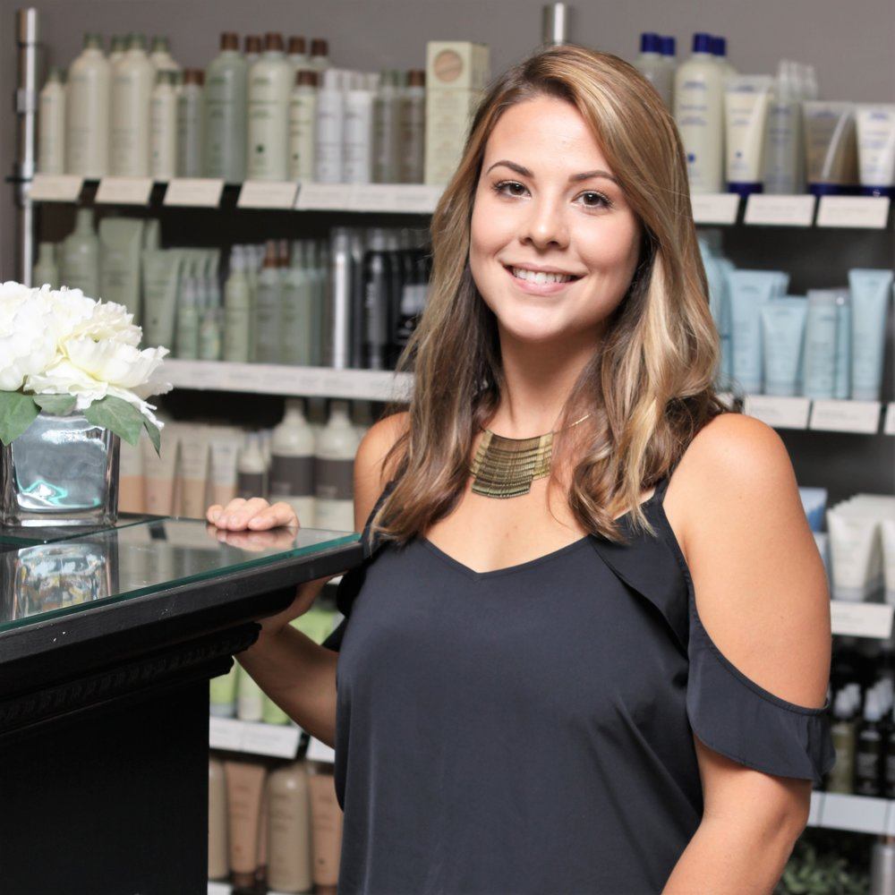 ELLEN OQUENDO   I graduated from Paul Mitchell the School San Diego and have been in the beauty industry since 2013. I specialize in eyelash extensions, balayage, and men's cuts. I offer the full salon experience with the goal of making every guest feel their best.   Ellen's Portfolio