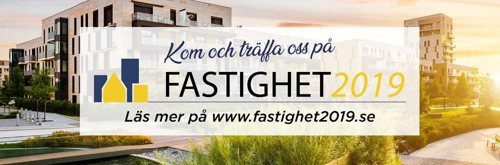 Magnus deltar på mässan Fastighet 2019  Torsdag 7 februari  Klockan 17.00 – 20.00