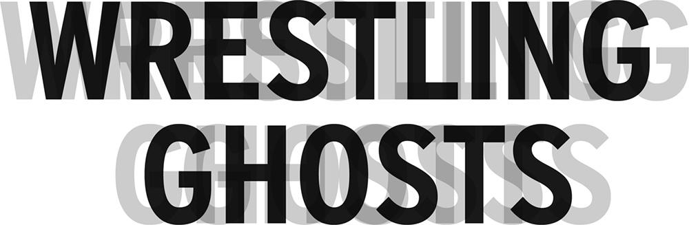 Wrestling Ghosts Logo Black Text (Transparent PNG)  (1500 X 491 pixels)