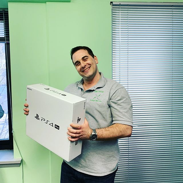 No April fooling here- our sales manager Joe celebrated his 5 yeah work anniversary with us and we couldn't be more thrilled!