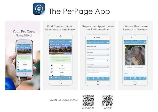 Did you know you can access your pet's vaccine records anytime through the PetPage app? PetPage is free to download in the App Store or Google Play Store! (You can also access PetPage through your desktop by clicking the following link: http://ow.ly/vZYk30lxVkx)