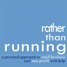 ratherthanrunning web design