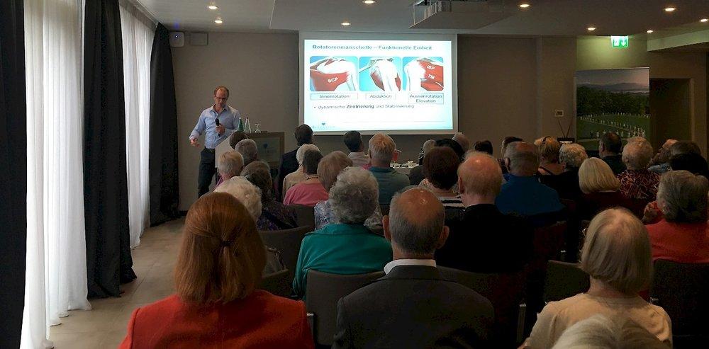 Publikumsvortrag mit Schulter-Experte Dr. med. Philipp Frey