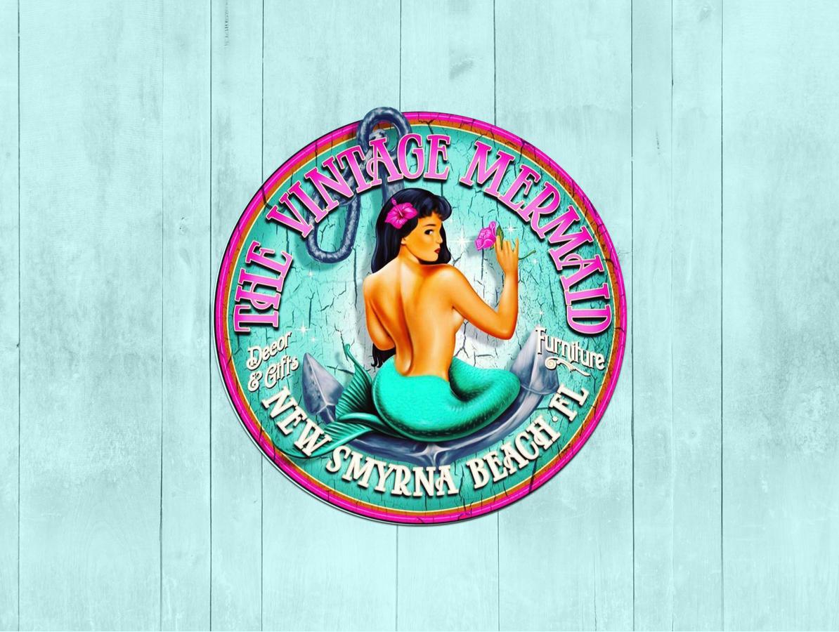 Vintage Mermaid Home Banner