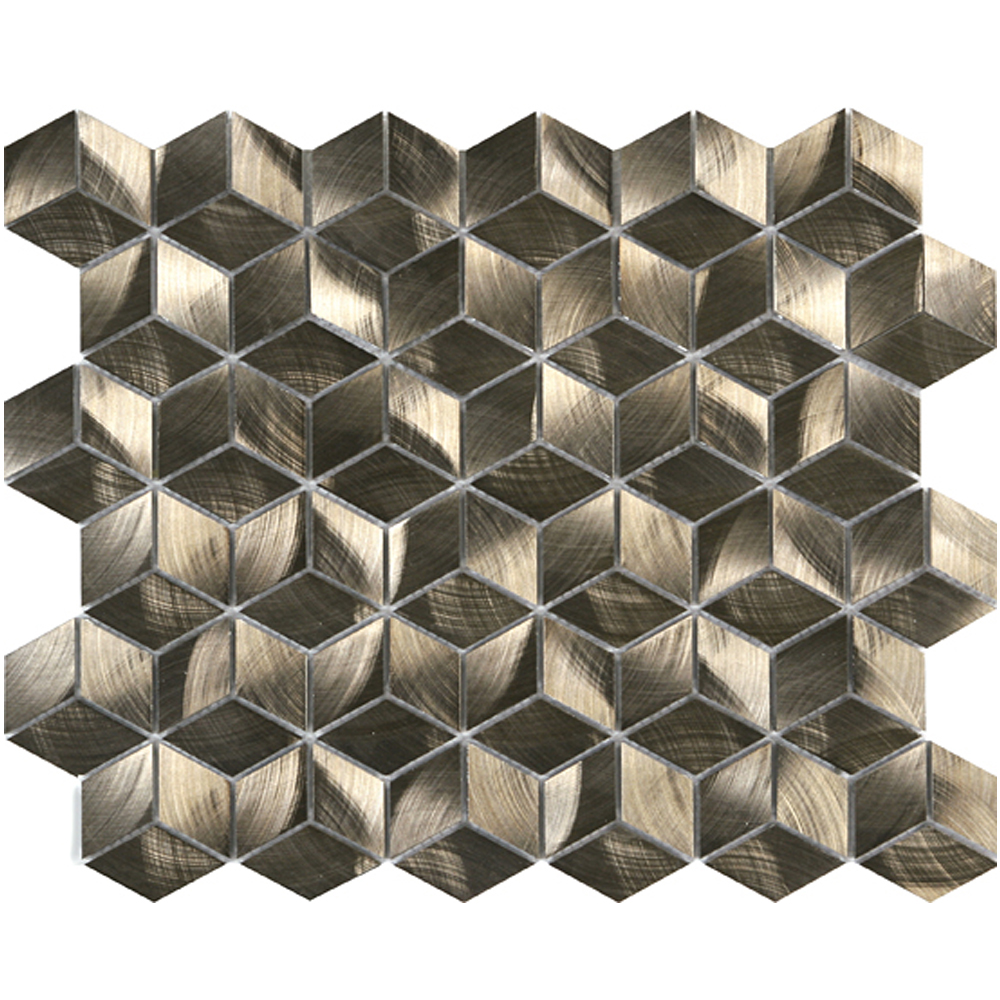 Bronze Cube