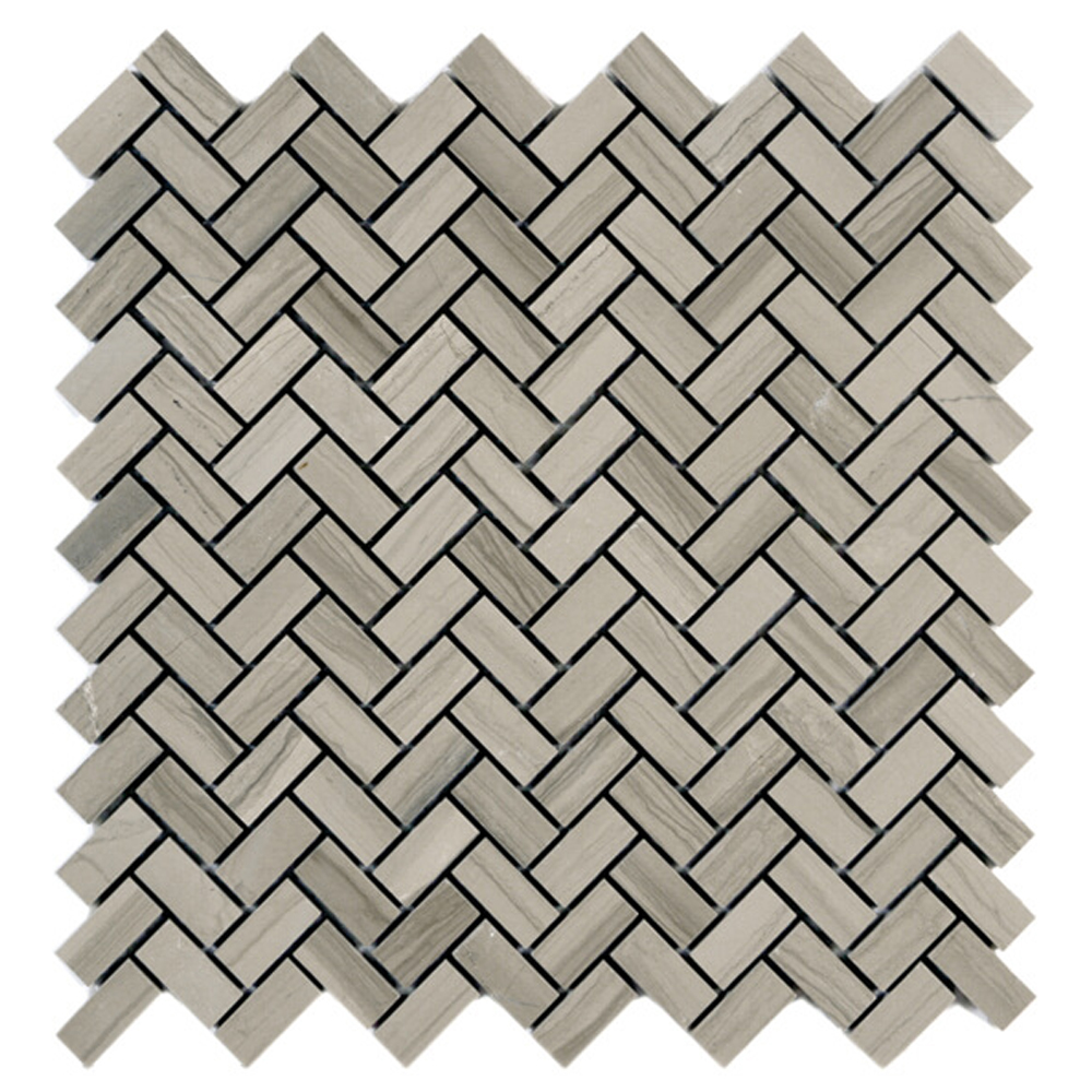 Polished Herringbone Mosaic
