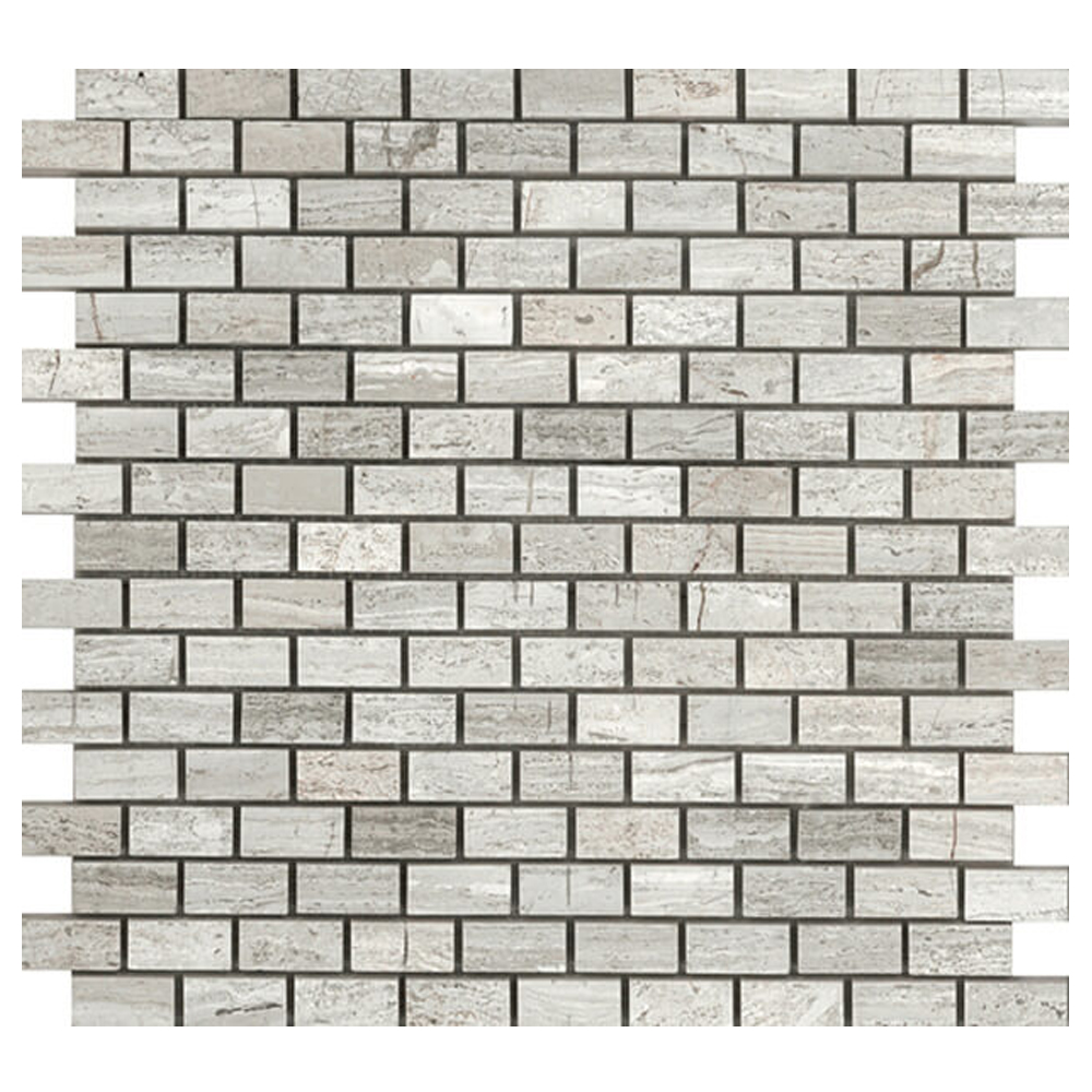 Polished Brick Mosaic  GM.BIA.WD.0,6X1,3