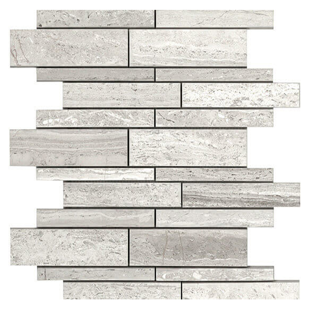 Polished Linear Mosaic |  In Stock   GM.BIA.WD.LN.12IRR