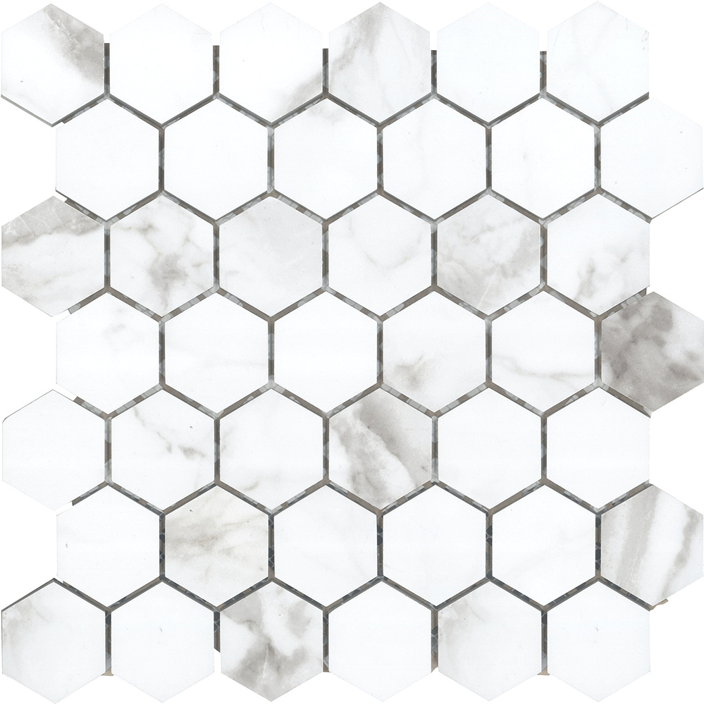 """2"""" Hexagon  Polished 