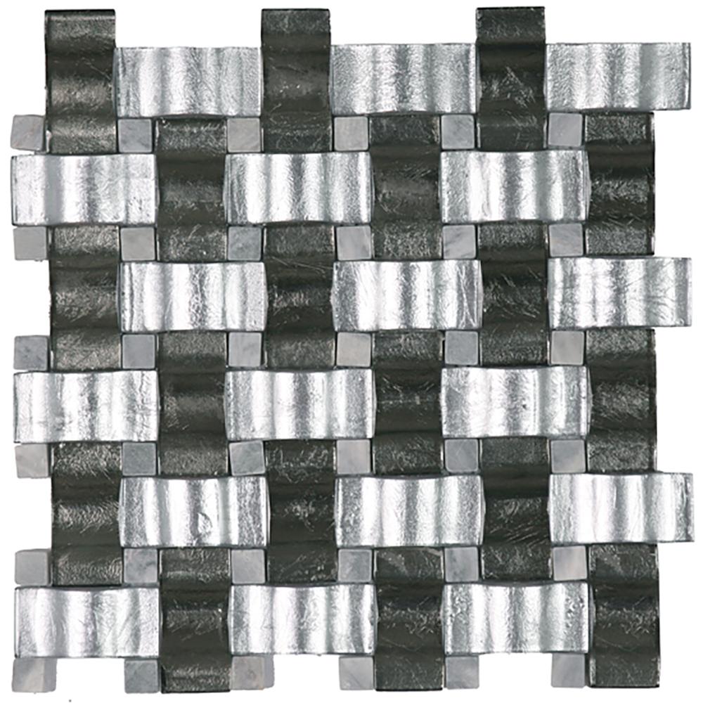 Silver / Grey Blend  QG.CR.SIL/CGR.CUR.BL